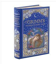 格林童话全集 英文原版 Grimms Complete Fairy Tales (Barnes & Noble Leatherbound Classic Collection)