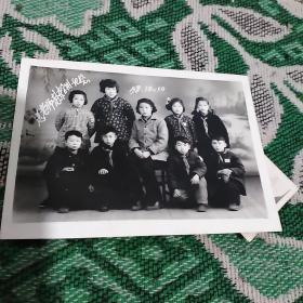 1958年送老师赴京合影