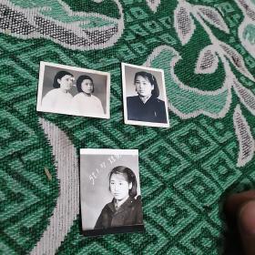 五十年代老照片3张合售