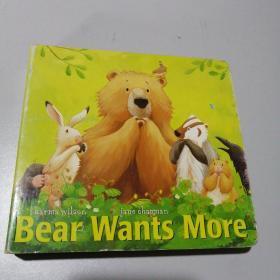 英文绘本,(Bear Wants More)