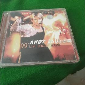 刘德华99演唱会  双碟VCD