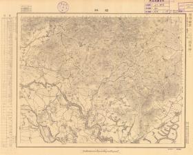1938年《民国潮州老地图》图题为《樟林》(原图高清复制)(图中包含饶平县,潮安县。饶平老地图、潮安老地图、潮安区老地图、潮安区地图、饶平县老地图、饶平县地图、饶平地图)民国军用图,参谋本部陆地测量局测绘,全部年代准确,五万分之一比例尺,村庄、道路、寺庙、山体等高线、山体高度等等绘制详细。此图种非常稀少。潮州地理地名历史变迁史料。裱框后,风貌佳。