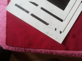 早期连环画手稿:【醉八仙】等7幅合售,27*19.5厘米等,实物拍照详见描述(有3附下口书白写有醉八仙及序号)