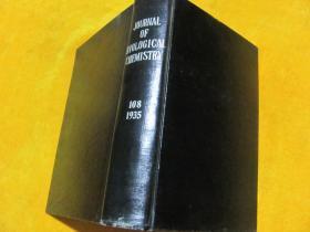 THE JOURNAL OF BIOLOGICAL CHEMISTRY 1935.108 英文原版 【皮面精装】