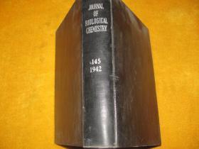 THE JOURNAL OF BIOLOGICAL CHEMISTRY 1942.145 英文原版  【皮面精装】