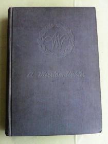 Websters  Dictionary of Synonyms     英文原版  16开大厚册韦氏同义词词典  大量同义词用法辨析