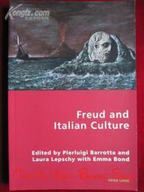 Freud and Italian Culture(英语原版 平装本)弗洛伊德和意大利文化