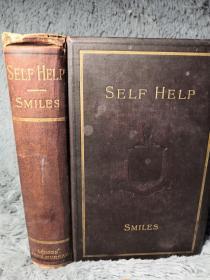 1890年 SELF-HELP WITH ILLUSTRATIONS OF CONDUCT AND PERSEVERANCE  《自助论》塞缪尔   19.5X13CM