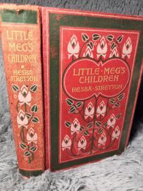 LITTLE MEGS CHILDREN 插图版   儿童读物 BY HESBA STRETTON  19X13CM