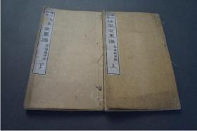 《琢华堂画谱》上下册     1880年