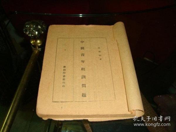 民国旧书《中国青年组训问题(全)》