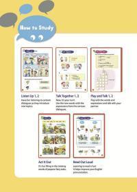 【HA】新编少儿英语 第1级 第4册 引进版幼儿少儿英语启蒙教程英语学习基础初级入门教材幼儿园小学英语学习