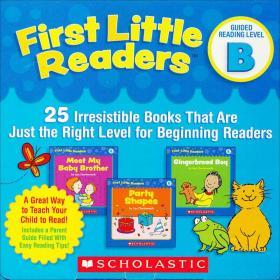 First Little Readers: Guided Reading Level B 小读者系列家长阅读指导套装B级