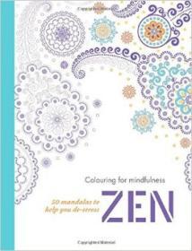 Zen:50mandalastohelpyoude-stress
