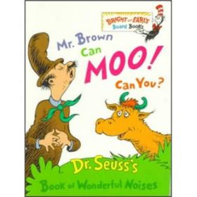 Mr. Brown Can Moo! Can You? 英文原版