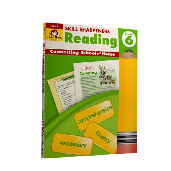 Evan-MoorSkillSharpeners技能铅笔刀ReadingGrade6六年级阅读美国加州教辅