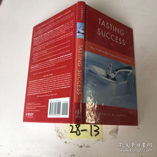 Tasting Success: Your Guide to Becoming a Professional Chef[品尝成功:成为职业厨师指南]