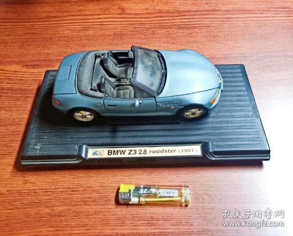 怀旧  老玩具收藏   90年代  宝马 BMW  Z3 2.8  1997版   宝马车模  一只