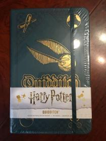 哈利波特原版标准版尺寸魁地奇笔记本harry potter quidditch