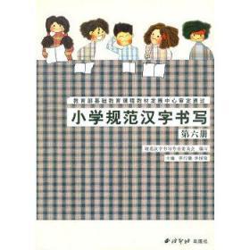 正版现货 小学规范汉字书写:第6册