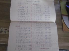初级剑术【手抄稿,1981年摘抄'武术初级套路'】