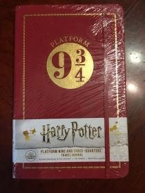 新版原版九又四分之三标准版尺寸笔记本harry potter platform nine and three -quarters