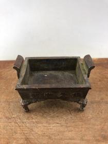 亏本处理佛光普照老铜香炉B3152.