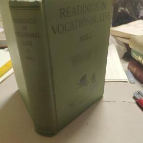 Readings in vocational life