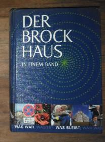 德文原版 Der Brock Haus In Einem Band 精装 包邮