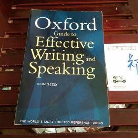 The Oxford Guide to Effective Writing and Speaking