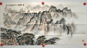 张绍中,山东师范大学教授,山东省美协会员,山东画院高级画师,师从钱松嵒先生。