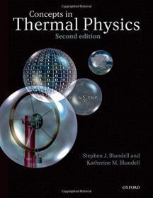 现货 Concepts in Thermal Physics  2e  英文原版 热物理概念 (第2版 热力学与统计物理学)