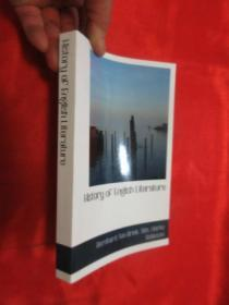 History of English Literature       ( 32开) 【详见图】