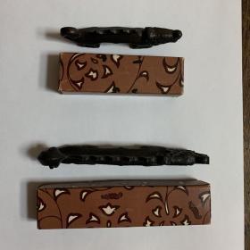 镇纸 笔架 日本回流 用于宣纸 砚台毛笔 墨锭