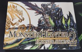 Monster Hunter Illustrations 2 怪物猎人2 设定集 画册 画集 英文原版