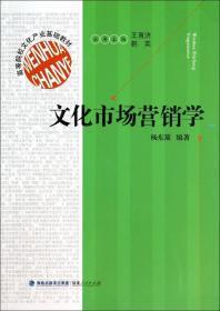 文化市场营销学/高等院校文化产业基础教材