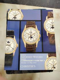 CHRISTIES GENEVA IMPORTANT WATCHES 佳士得2010 日内瓦重要手表