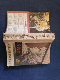 前线民兵(半月刊) 1980年第13、14、15、16、17、18、19、20、21、22、23、24期 合售(实物拍摄,详见图片)