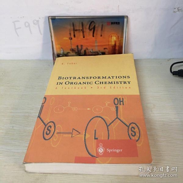 K. FaberBIOTRANSFORMATIONSIN ORGANIC CHEMISTRYATextbook.3rdEdition译文:k·法伯尔生物转化有机化学中