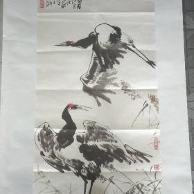珂罗版徐昌酩宣纸画