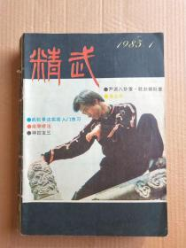 精武1985 1期+1986 2 3 4 5 期+1987双月刊 1-6(合订在一起 总11本合售)