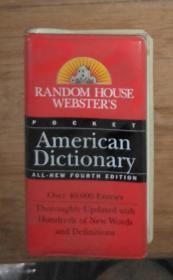 英文原版 Random House Websters Pocket American dictionary All-new Fourth Edition 著