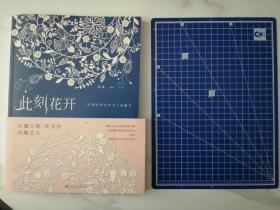 此刻花开:一本精美绝伦的手工纸雕书(附制作工具:刻刀、垫板)