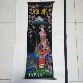 日本布艺挂画