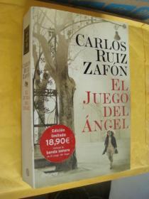 CAR;OS RUIZ ZAFON:EL JUEGO DEL ANGEL 西班牙语 16开厚册