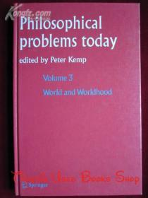 Philosophical Problems Today(英语原版 精装本)今天的哲学问题