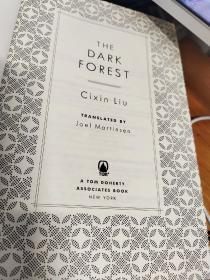The Dark Forest 三体黑暗森林英文版