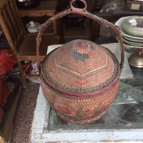 潮汕竹器:老篮子