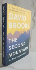 英文原版书 第二座山 The Second Mountain David Brooks