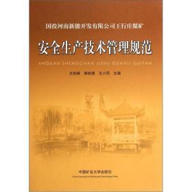 国投河南新能开发有限公司王行庄煤矿安全生产技术管理规范(精)